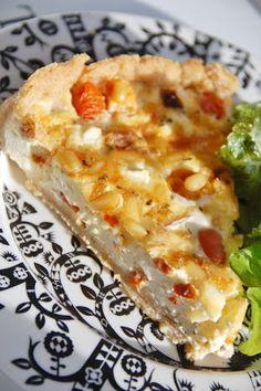 Makeaa murmelin täydeltä: Fetapiirakka Hawaiian Pizza, Quiche, Pie, Breakfast, Recipes, Food, Torte, Morning Coffee, Cake