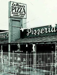 These are couple of pictures of Larosa from 1954. 1st location in Western Hills.....