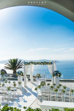 Chenfei and Xin's gorgeous Sunset View Terrace wedding in Santorini by The Bridal Consultant