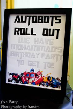 greenweddingplannerblog.com » Blog Archiv » Transformers Birthday Party