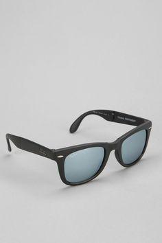 Ray-Ban Matte Folding Wayfarer Sunglasses  #urbanoutfitters