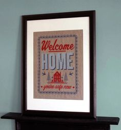 Emma Congdon Welcome Home cross stitch