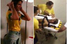 Bruna Marquezine paniquée lors de la blessure de Neymar - http://www.actusports.fr/110977/bruna-marquezine-paniquee-lors-de-la-blessure-de-neymar/