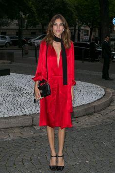 Victoria, Franca, Amber & Co. – Die 10 schönsten Outfits der Woche – SI Style