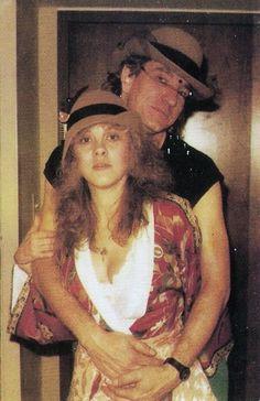 Stevie Nicks and Joe Walsh