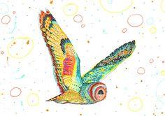 Owl by Sandra Dieckmann