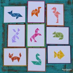 Doodlecraft: Tangram Rubber Stamps DIY!  http://www.doodlecraftblog.com/2015/04/tangram-rubber-stamps-diy.html