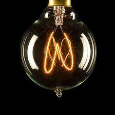 Edison Bulb with Quad Loop Filament