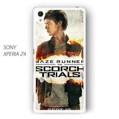 maze runner 2 thomas brodie sangster poster AR for Sony Xperia Z1/Z2/Z3 phonecase