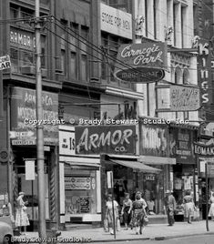 Liberty Ave & Barkers Place, Date Unk.