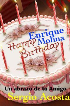 Felicidades Enrique Molina