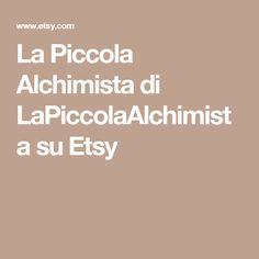La Piccola Alchimista di LaPiccolaAlchimista su Etsy