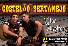 Um dos meus primeiros cartazes *_* Costelão Sertanejo em Monte Alto - SP