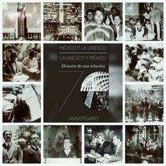 """La exposición """"México y la UNESCO: 70 años de relación"""" muestra fotografías inéditas que retratan momentos en la relación de México y UNESCO ¡Conócela!"""