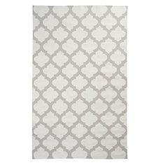 Casablanca Dhurrie Rug - Steel   Area-rugs   Panels-and-rugs   Z Gallerie