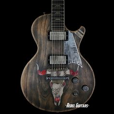 Scala Guitars Diamond & Rust Underdog Concert in Worn Black | Rebel Guitars