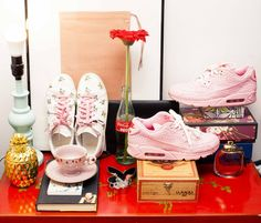 """Inside the Webster Buyer Gia Seo's Closet: """"[The 5 things I can't live without are] my family, blueberry bagels with bacon and cheddar cream cheese, basketball, sneakers, and hair ties.""""   coveteur.com"""