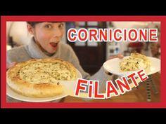 TORTA SALATA ZUCCHINE E RICOTTA CON CORNICIONE FILANTE, RICETTA FACILE E VELOCE - YouTube