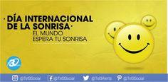 Hoy se celebra el #DiaMundialdelaSonrisa en medio de las dificultades debemos hacer frente a la vida y sonreir, te invitamos a llamar a tus familiares a través de nuestra Red, hazles sonreir al escuchar tu voz, sonríe tu también pues #Tel3 tiene para ti las tarifas más económicas en llamadas internacionales, compruébalo haz click aquí https://www.tel3.com/es/jsp/suscribete.jsp