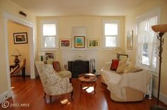 living room with fire place... 429 N Lincoln