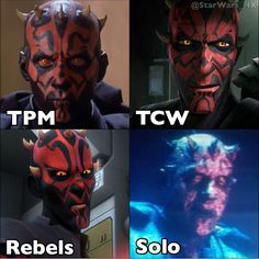 Darth Maul Solo The Clone Wars The Phantom Menace