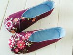 Kimono Women's Shoe ~ ithinksew PDF Sewing Pattern - Might have to try these