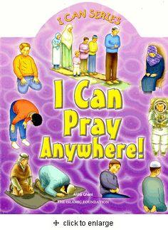 I Can Pray Anywhere! Board Book (Aisha Ghani) Ages 3 to 6