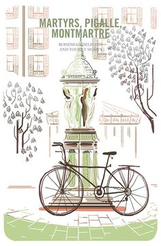 An Illustrated Field Guide to Biking in 8 Major European Cities | Brain Pickings