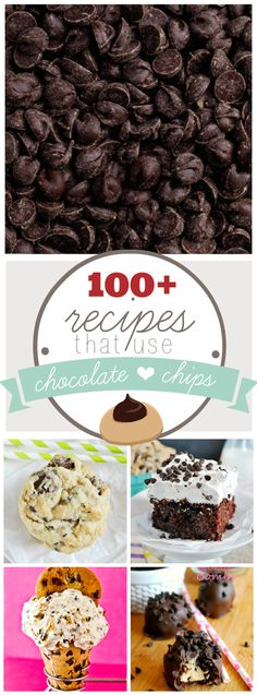 100+ Recipes That Use Chocolate Chips - (somethingswanky)