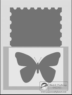 Sketch Challenge SK042311 - Paper Craft Planet