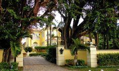 Palm Beach Rock Star Mansion Photograph by Maria Keady