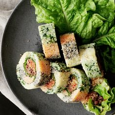 Colorful Gimbap Korean Sushi