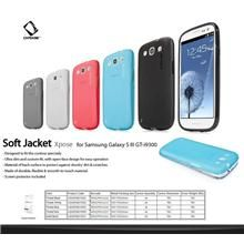 CAPDASE Silicone Gel Shinning Ultra Slim Soft Jacket 2 Xpose Series Case Skin For Samsung Galaxy S3 at Elewarehouse.com