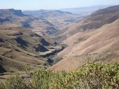 Lesotho Gebirge auf Lesotho Reiseführer Grand Canyon, Nature, Travel, Kingdom Of Heaven, Mountain Range, Travel Report, Travel Advice, Africa, Viajes