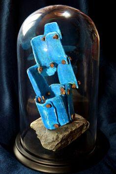 * cabinet of curiosities * Naturalia - Roches et eau. Cabinet Of Curiosities, Media Cabinet, New Media, Curiosity, Sculpting, 3d Printing, Saatchi Art, Contemporary Art, Objects