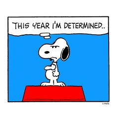 "Snoopy Says, ""2015, let's do this!"""