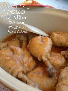 Ingredientes: 1200 gr. de muslos de pollo. 1 cebolla. 2 dientes de ajo. 1 hoja de laurel. 2 clavos. 1 cuch...