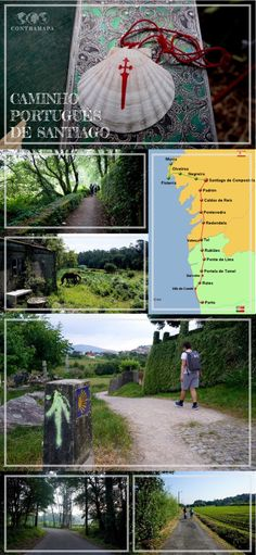 Cliquem na imagem para lerem tudo o que precisam de saber sobre o Caminho Português de Santiago!
