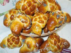 Rozi Erdélyi konyhája: Fonott copfos kiflik Pretzel Bites, Bread, Food, Meals, Breads, Bakeries, Yemek, Patisserie, Eten