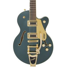Get the Gretsch Electromatic Center Block Jr. Single-Cut with Bigsby in Cadillac Green from Andertons Music Co. Gretsch, Cadillac, Guitar, Music, Christmas 2019, Kids, Musica, Young Children, Musik