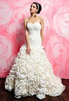 Eden Bridal 2403 Size 12 Ivory