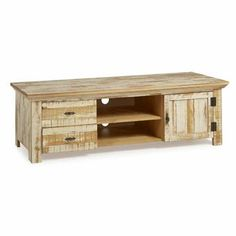 The Beach House Design Reclaimed Collection 59 TV Stand Solid Wood Distressed White Living Room Storage, Living Room Furniture, Tv Stand Set, Solid Wood Tv Stand, Cool Tv Stands, Traditional Cabinets, Modern Tv, Furniture Deals, Living Room Designs