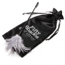 10 seksspeeltjes die ons aan 'Fifty Shades Of Grey' doen denken - Famme. The Tickler, Mr Grey, Fifty Shades Of Grey, Valentine Day Gifts, Reusable Tote Bags, Foreplay, Brushes, Feathers, Partner