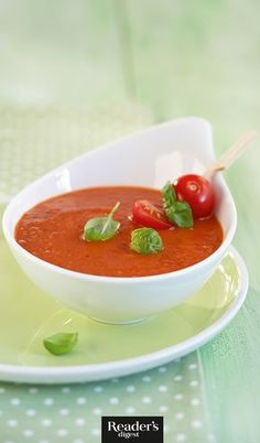 Fruchtige Tomatencremesuppe