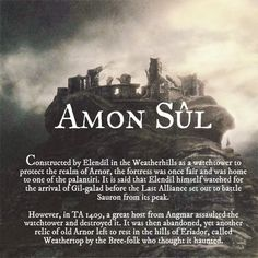 Ruins of Middle-earth: Amon Sûl