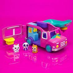 New Squinkies Ice Cream Truck Playset