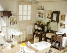 Miniature Bathroom - Hayatymama