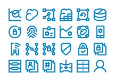 Discover more of the best Icons, Symbols, Pictograms, Forma, and Dell inspiration on Designspiration Branding Process, Best Icons, Ui Elements, Brand Guidelines, Creative Icon, Line Icon, Signs, Icon Design, Ui Design