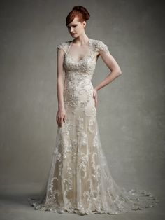 Enzoani Jaime Is A Beautiful Vintage Style Wedding Dress With Cap Sleeves And Sexy Low BackReady Waiting For You To Try Now At Bellissima Weddings Essex