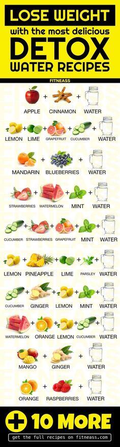 20 Detox-Wasserrezepte, um Gewicht zu verlieren und Giftstoffe auszuspülen #auszuspulen #detox #gewicht #giftstoffe #verlieren #wasserrezepte